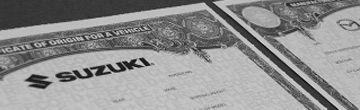 Certificate of Origin's